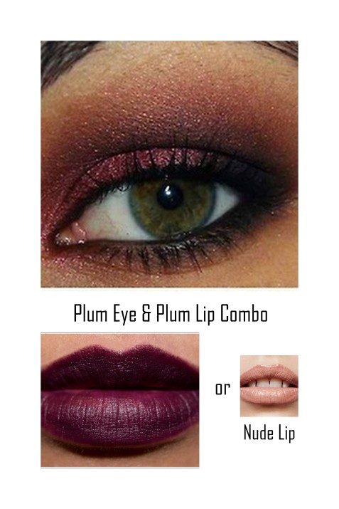Eyes Lips Combo Plum