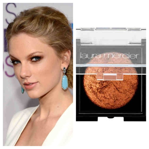 Taylor Swift Bronze Eye Makeup